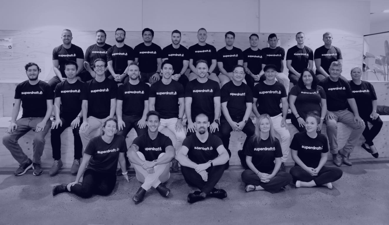 Superdraft team photo